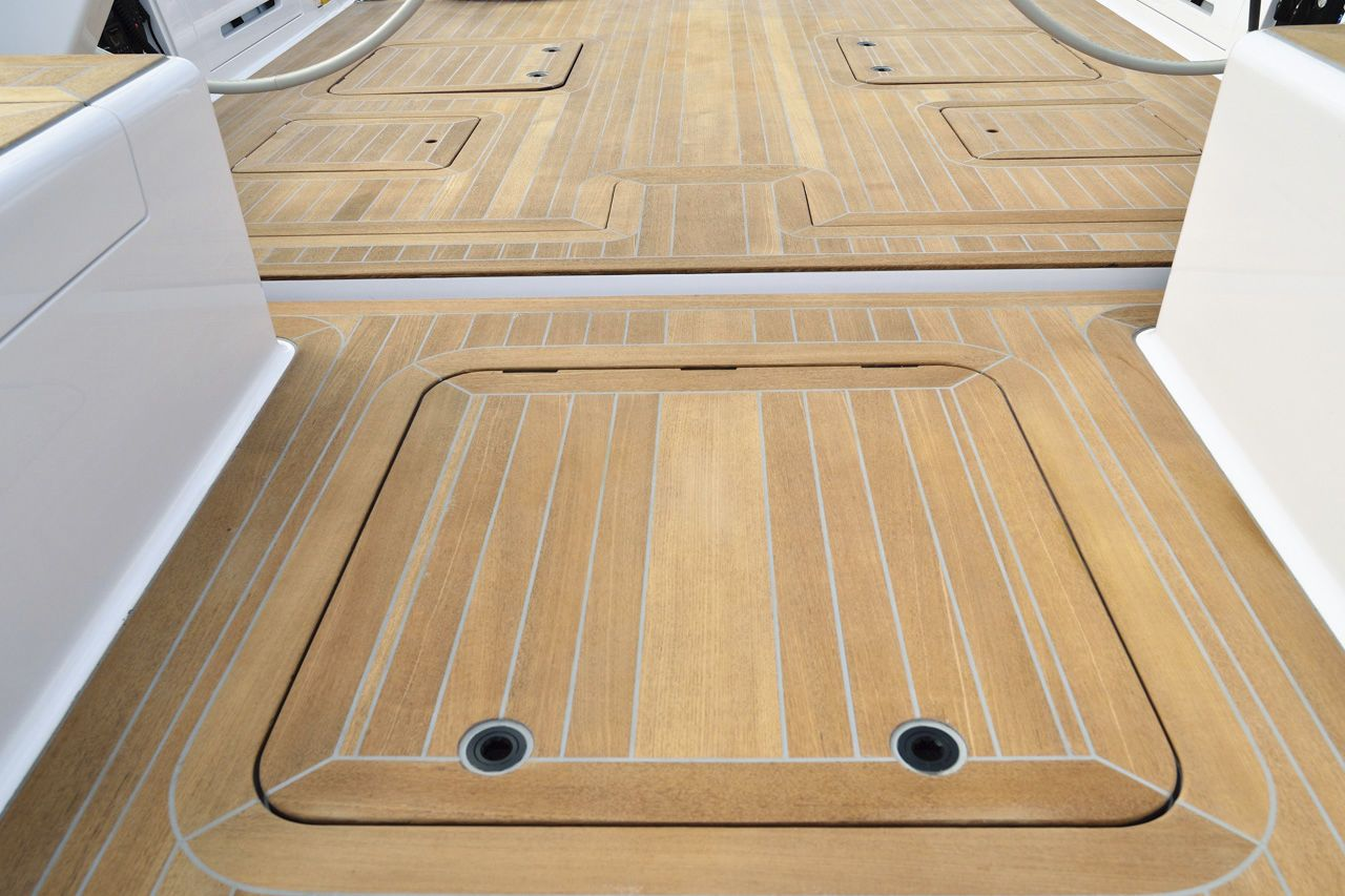 Cost Of Teak Floors In A Boat Composite Board For Pontoon
