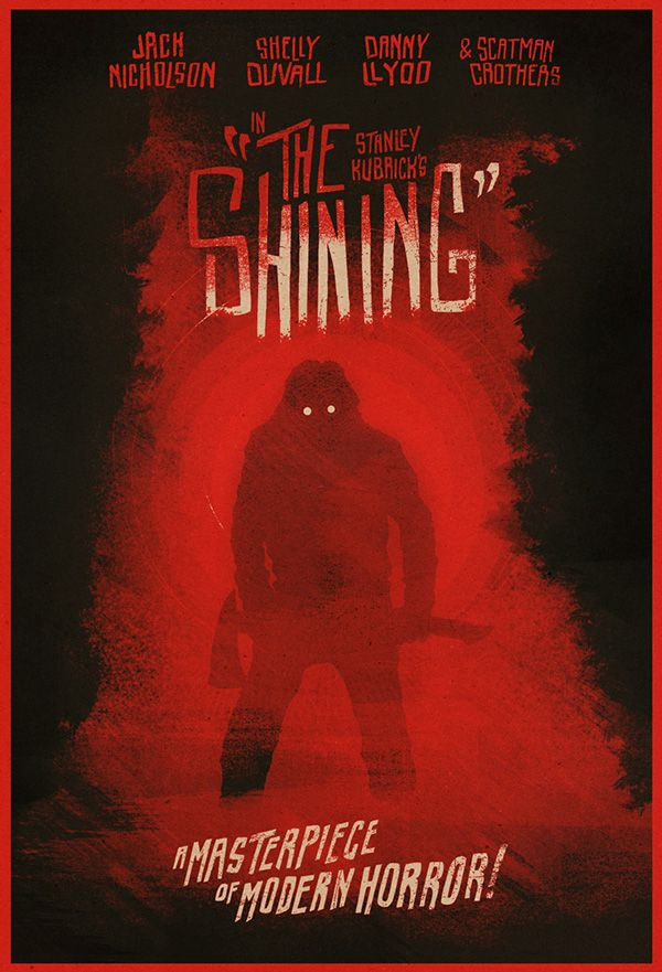 The Shining by Matthew Griffin, via Behance