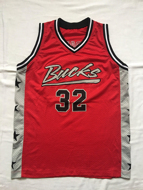 best website 1eb11 8fd64 Vintage Bucks basketball jersey | Cool Stuff for sale ...