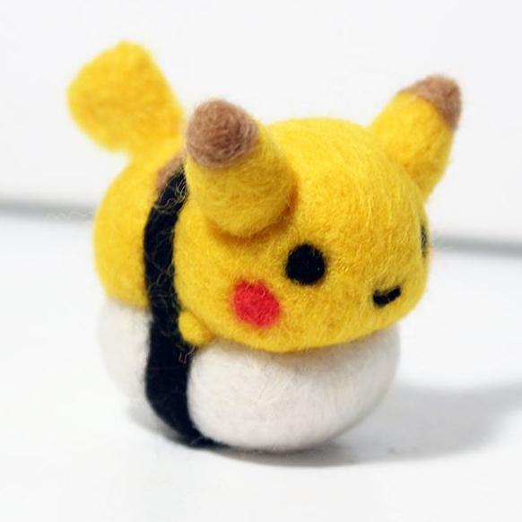 Sushi Pokemon made by CafeDeYume -