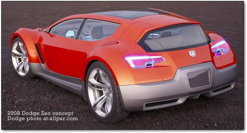 Paul Brown Dodge >> The Dodge Zeo Concept Is Designed To Break The Paradigm Of