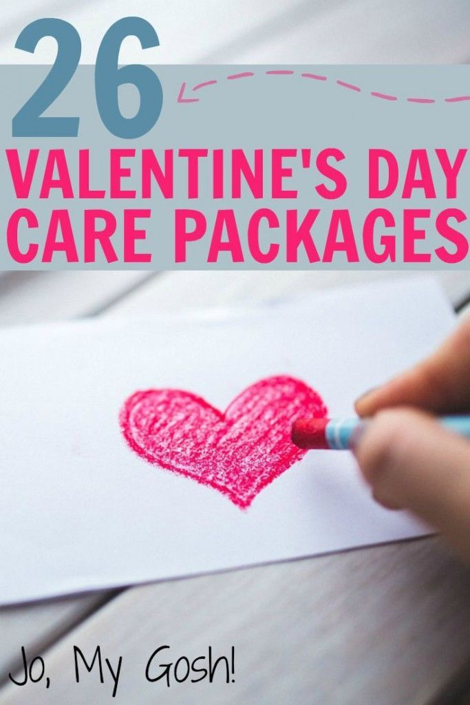 26 Valentine\'s Day Care Package | Gift, Deployment care packages ...