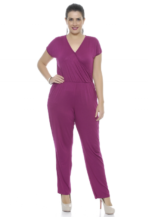 Macacão Violet VIOLETA Plus Size
