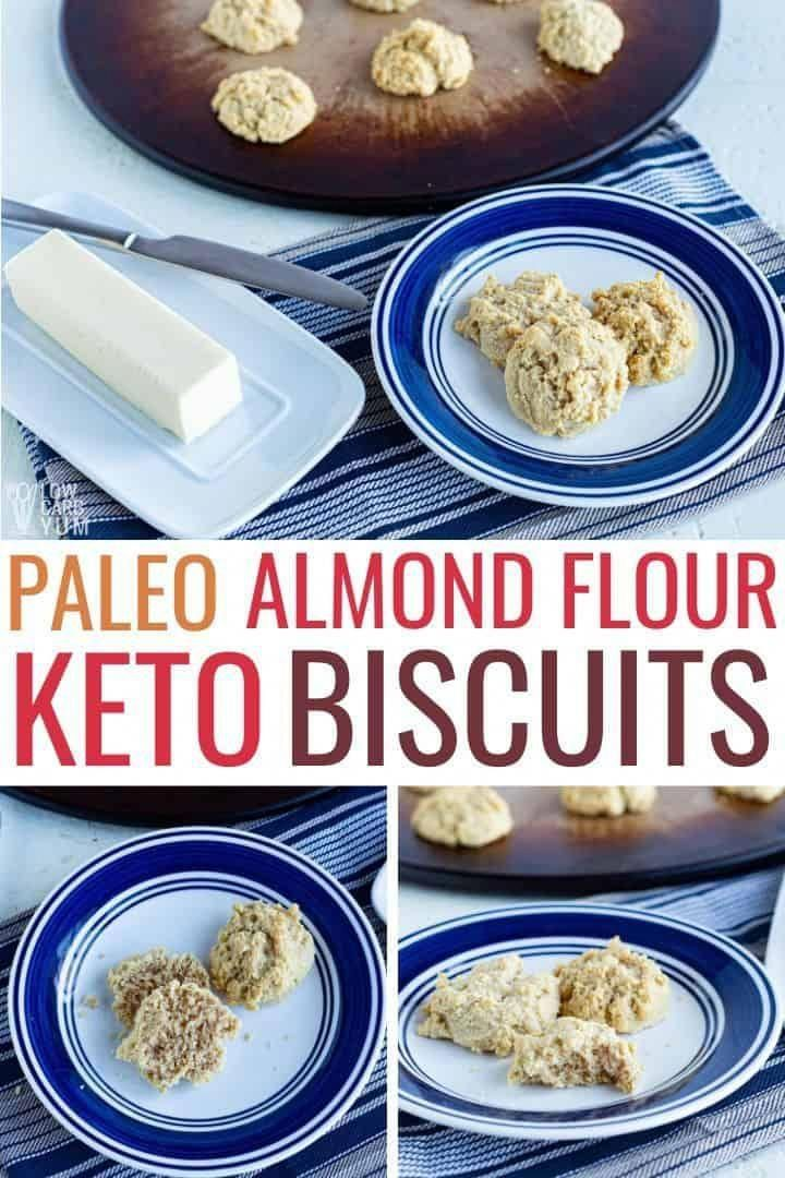A low carb keto biscuits almond flour recipe. It's also a paleo biscuit recipe! This easy biscuits recipe makes the best biscuits for anyone on a keto diet or gluten free lifestyle. | Low Carb Yum @lowcarbyum #ketorecipes #lowcarbrecipes #easyketorecipes #ketobread #KetoDietLunch #almondflourbiscuits A low carb keto biscuits almond flour recipe. It's also a paleo biscuit recipe! This easy biscuits recipe makes the best biscuits for anyone on a keto diet or gluten free lifestyle. | Low Carb Yu