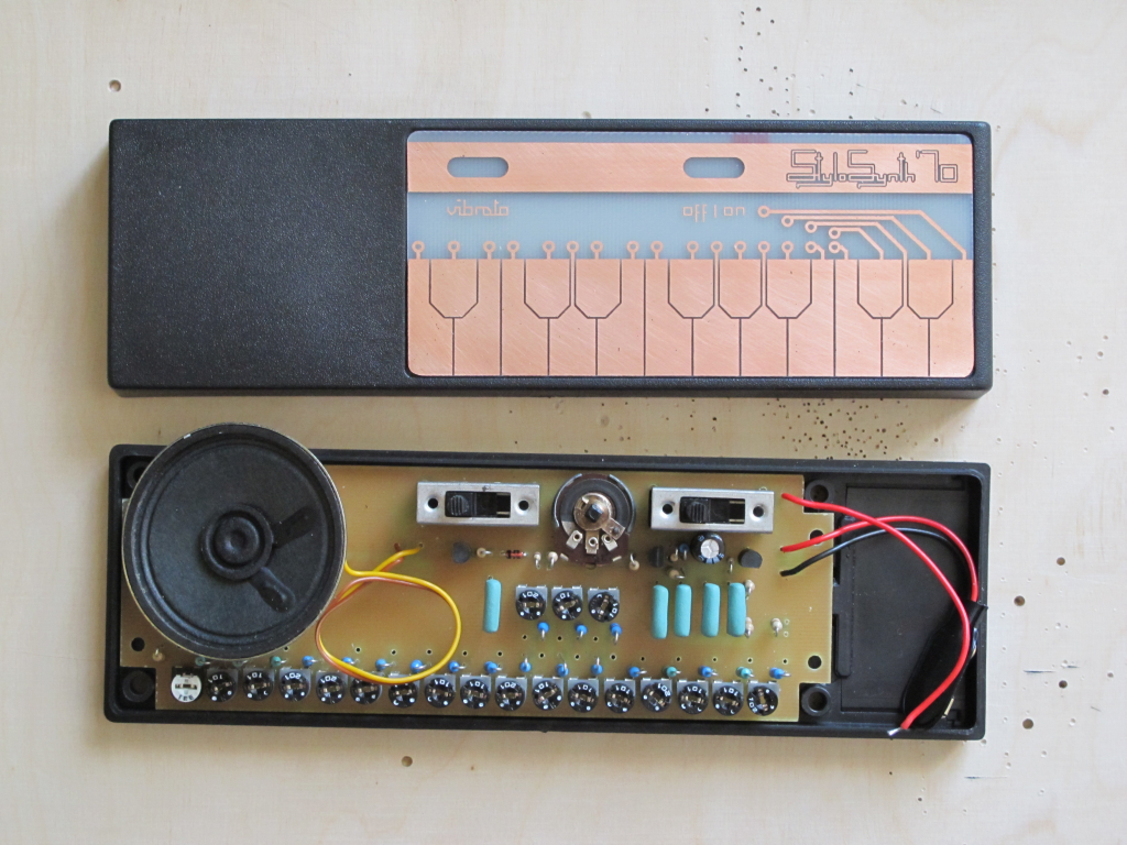 Stylosynth 70 An Diy Attempt To Clone Early Stylophone Customized Circuit Board Pcb Making 5 Custom