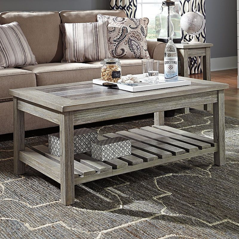 Signature Design By Ashley Coffee Table | home decor ...