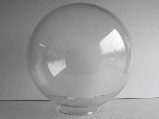 12 Clear Globe W 4 Fitter Lamp Parts Glass Globe Globe Lamps