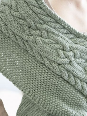 Celtic Cables Wrap Yarn Free Knitting Patterns Crochet