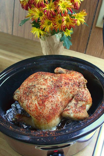 Crock Pot Recipe Link-Up: Roast Chicken