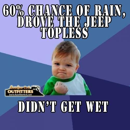 Pin By Tammy Seaton On Jeeps Success Kid Kid Memes Clean Humor