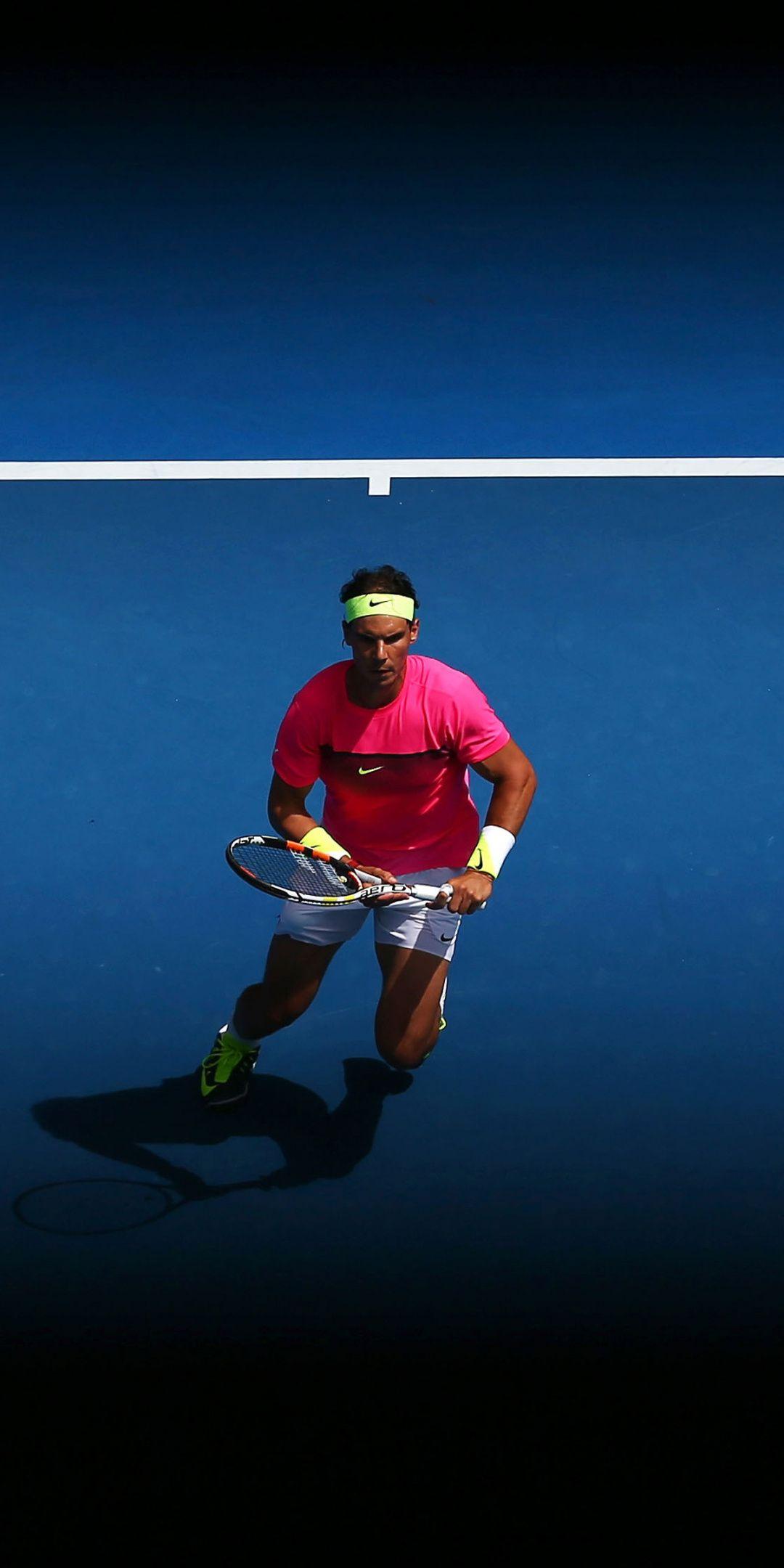 Sports Tennis Player Celebrity Rafael Nadal 1080x2160 Wallpaper Tennis Wallpaper Rafael Nadal Tennis Pictures