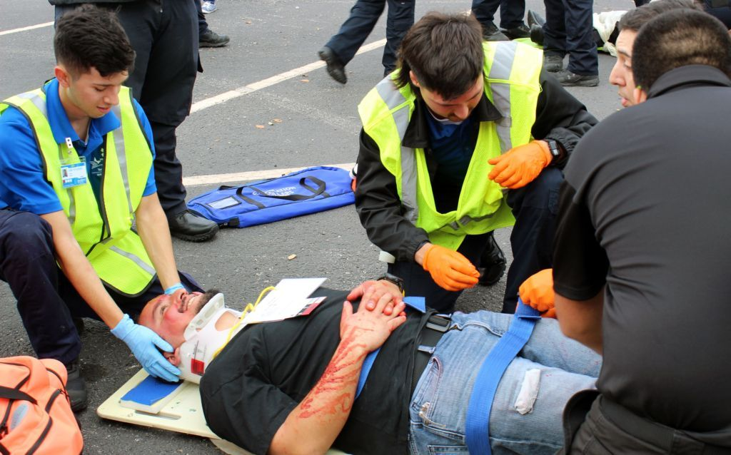 EMS Students Go Hands On With Extrication Day Paramedic