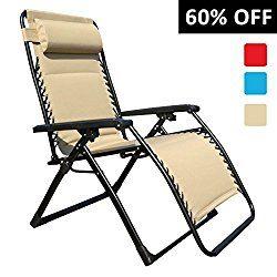 padded zero gravity chair go anywhere goldsun oversized comfortable beige