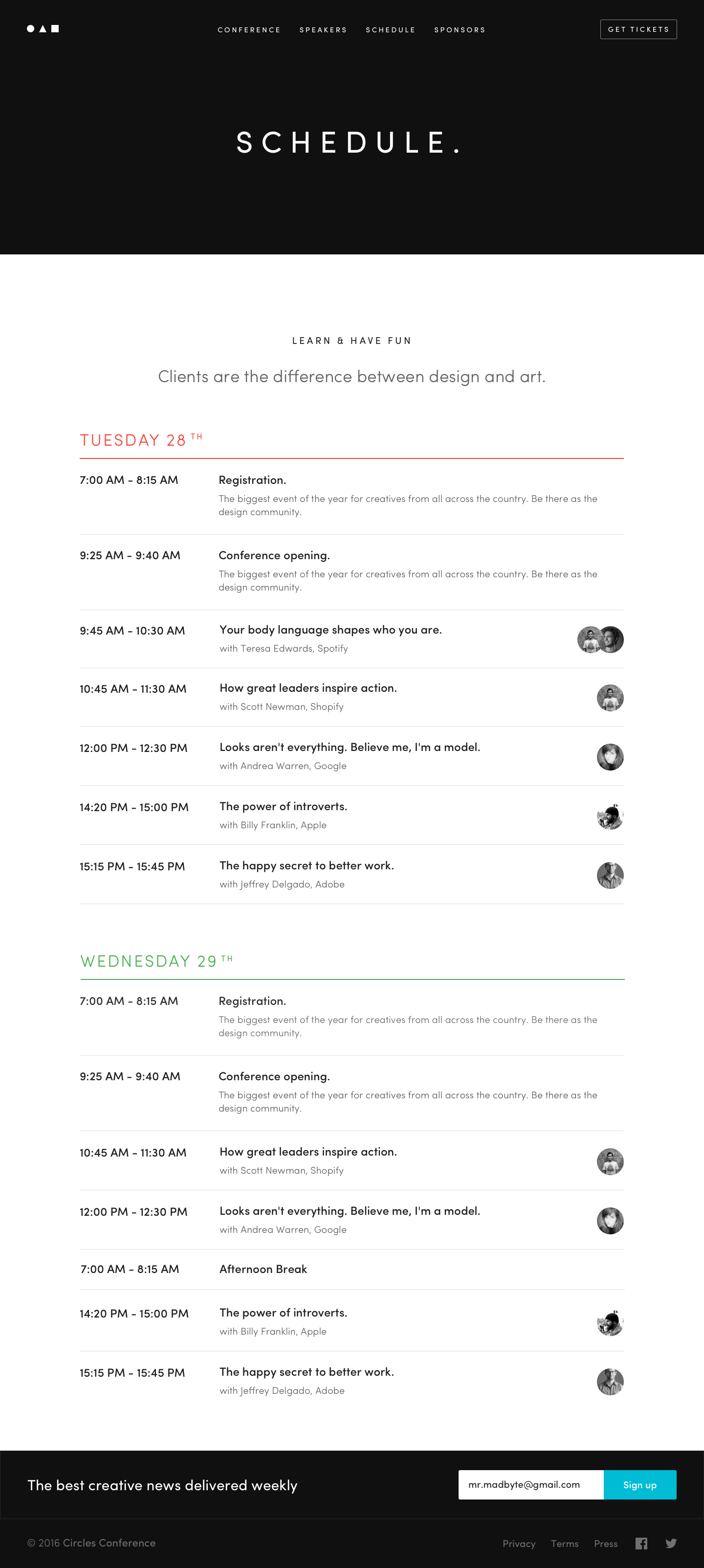 Circles schedule | UI Design / Дизайн интерфейсов | Pinterest ...