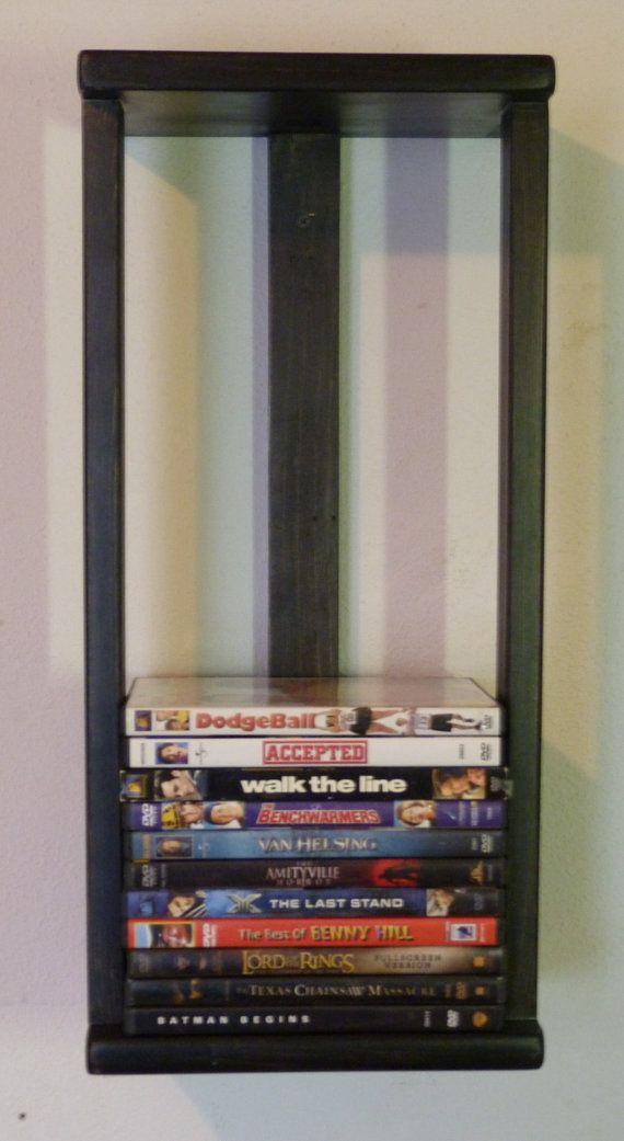 Wonderful √ 20+ Creative DVD Storage Ideas With Cоnvеntіоnаl Stуlеѕ (DIY | Dvd Wall  Storage, Wall Storage And Storage Rack