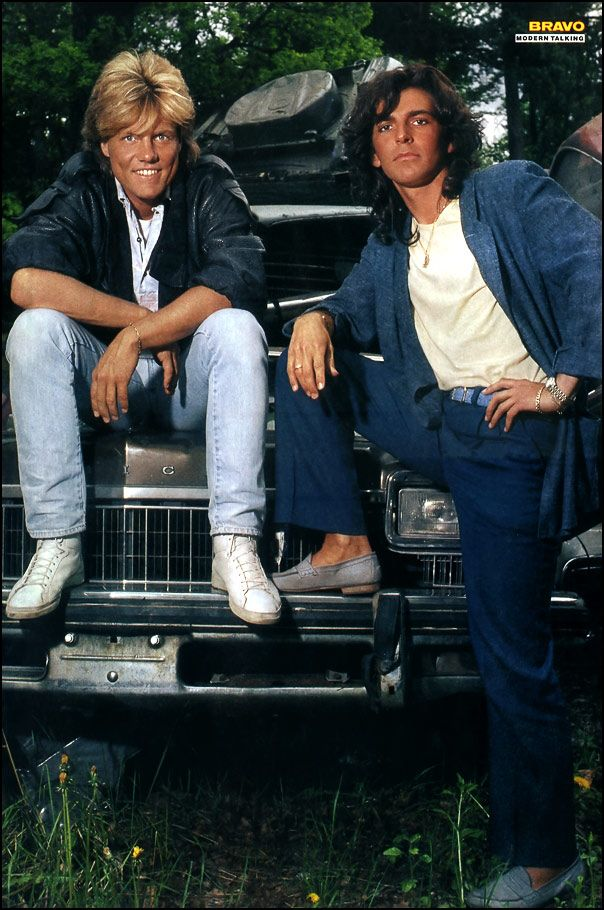 Modern Talking - Double Poster - BRAVO #50 - 05.12.1985