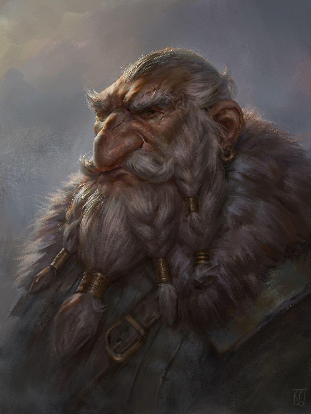 211 Best Portraits: Dwarves images in 2019 | Fantasy dwarf ... |Dwarf Male Portrait
