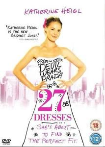 Discounted: 27 Dresses (DVD, 2008) As New Condition Katherine Heigl Ed Burns James Marsden #movies