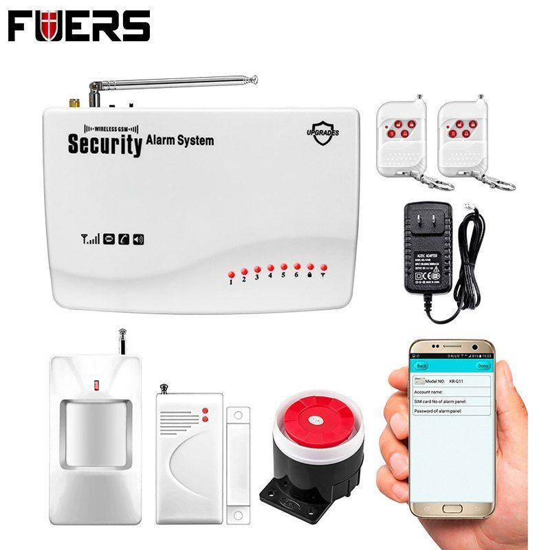 App iosandroid remote control armdisarm wirelesswired