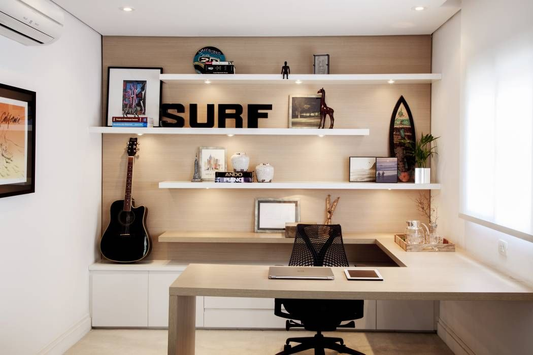 Bureau de style par helô marques associados biblio home office
