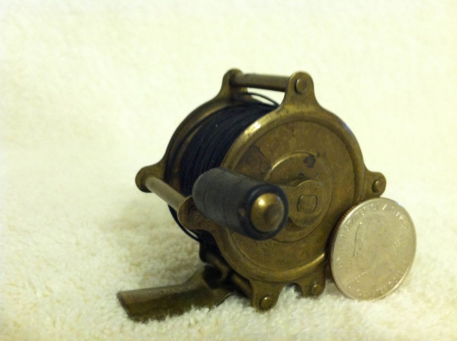 vintage fly fishing reel vintage brass fly fishing reel