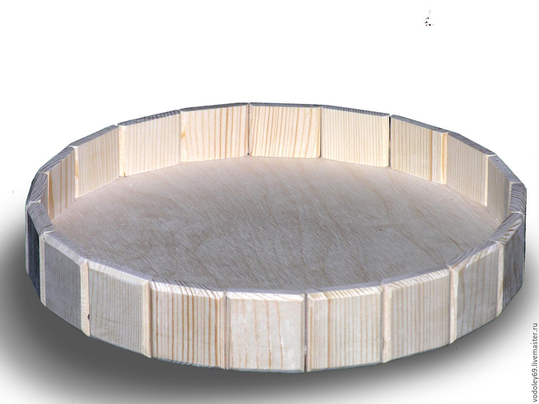 Купить Поднос - бежевый, поднос, поднос для кухни, поднос декупаж, поднос деревянный, поднос круглый