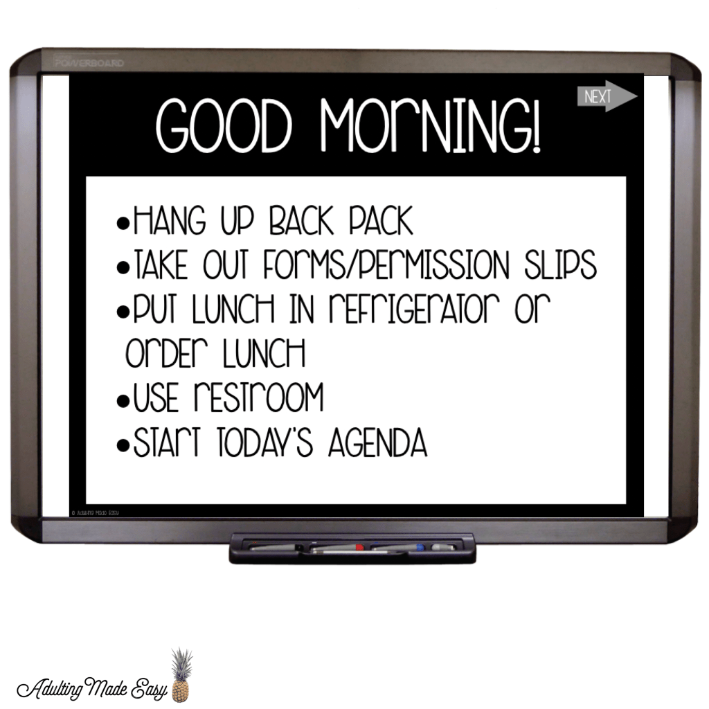 Morning Meeting Interactive Slides Activities And