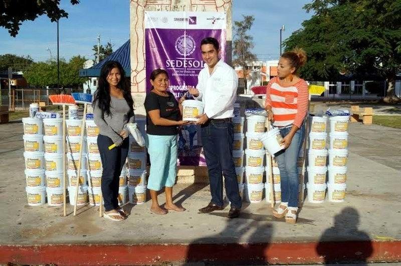 Arrancan las labores del programa empleo temporal de la delegación de Sedesol en Yucatán