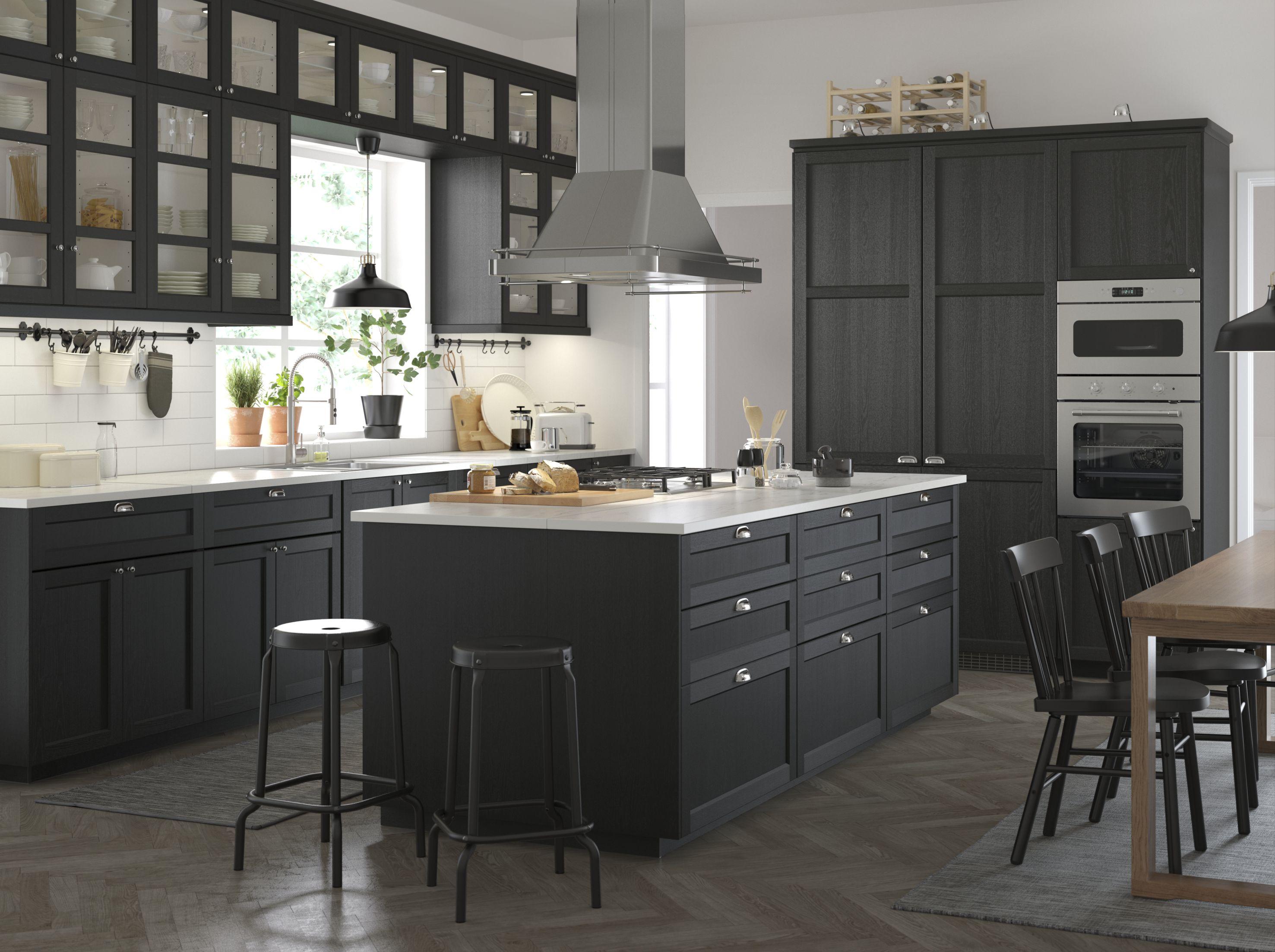 Ikea Lerhyttan | Kök | Pinterest | Neue küche, Haus küchen und Küche