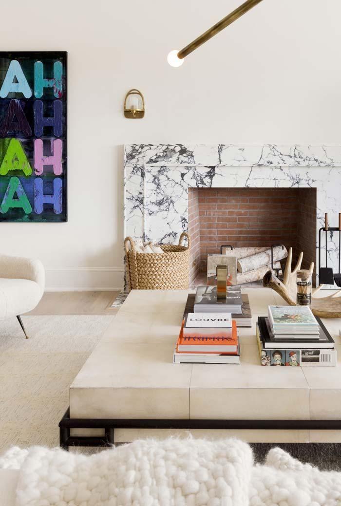Wohnzimmer mit Kamin: wie wählen und Tipps zum dekorieren ...