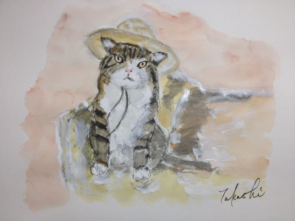 So lovely <3  こんばんは。 今夜の一枚は、白木 アレクサンダーさんの飼猫、マル君の写真をお借りしました(^_−)−☆  https://www.facebook.com/celine.marcoz.3/posts/1642640039348121
