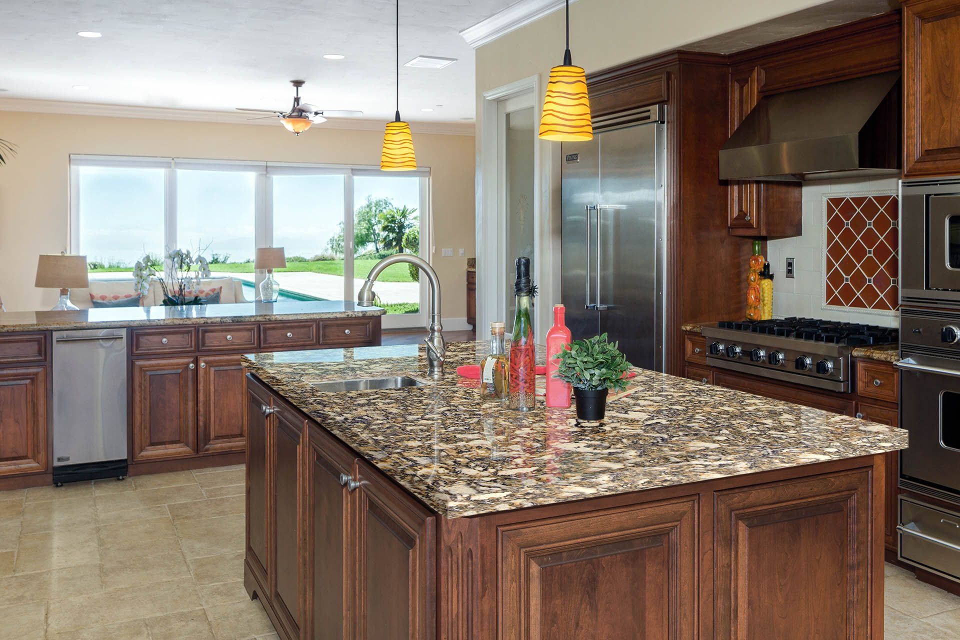 Spectrum Quartz Kitchen Countertop Color Carefree Kitchen