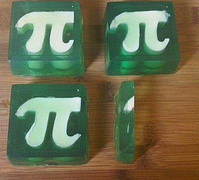 Thinkgeek Pi Symbol Ice Cube Trays To Make Pi Soap Favors