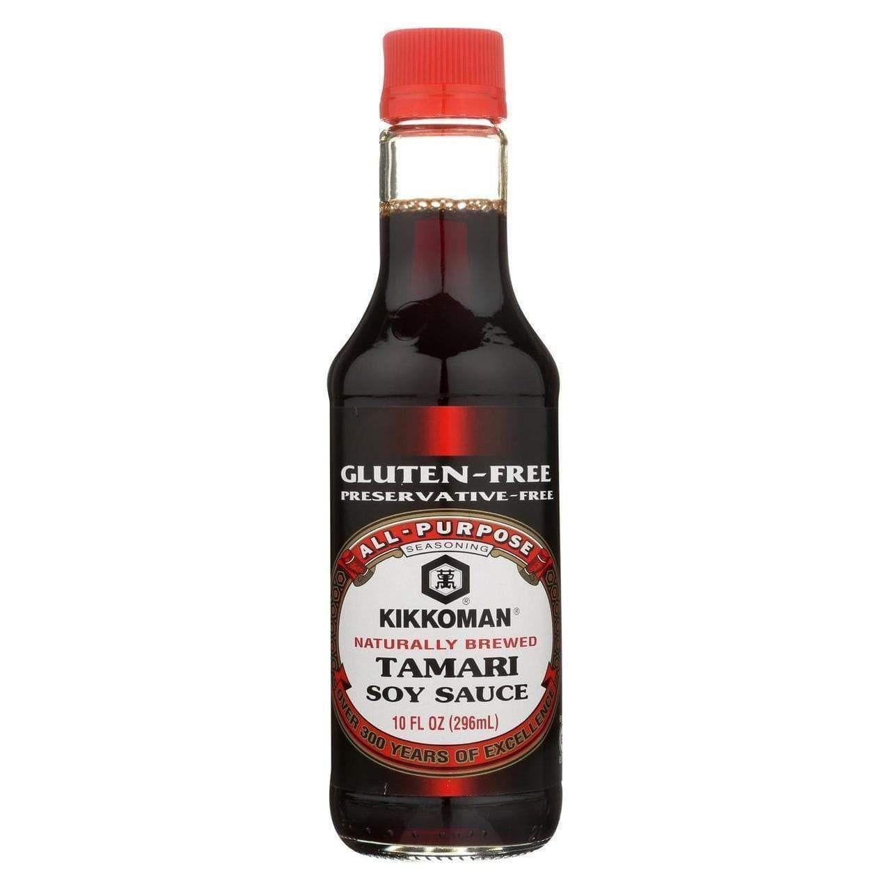Kikkoman Gluten Free Tamari Soy Sauce - Naturally Brewed ...