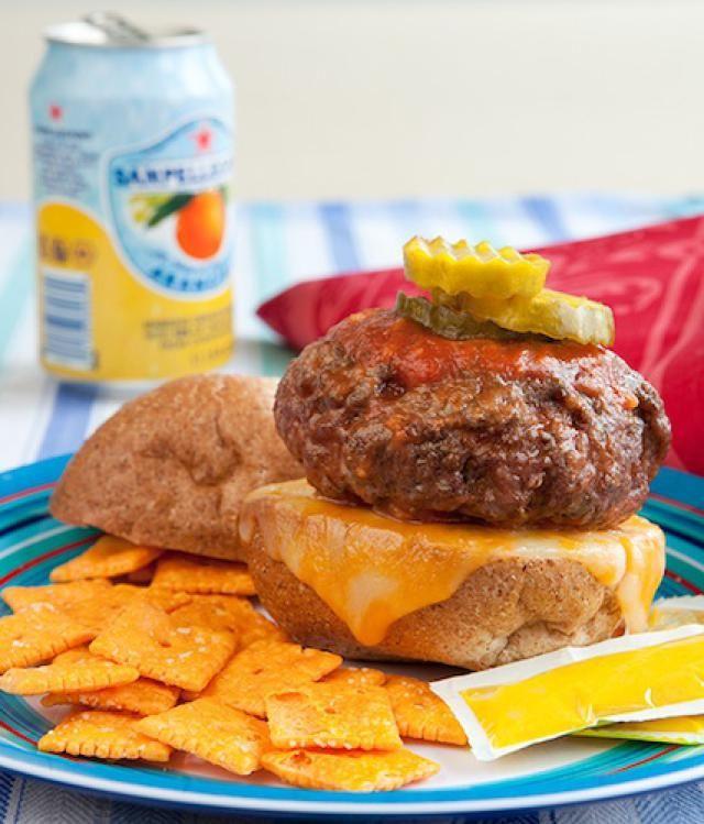 Slow Cooker Crock Pot Hamburger Recipe Recipe Homemade Burgers Recipes Hamburger Crockpot Recipes
