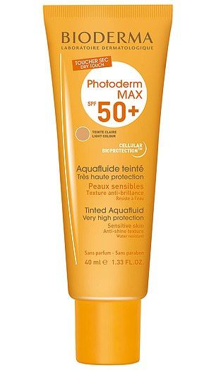 Bioderma Photoderm Max Tinted Aquafluid SPF50+ Light