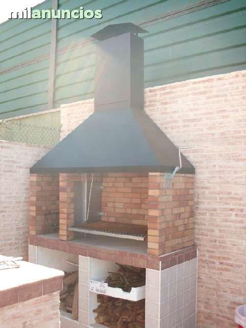 Parrilla dise o argentino con chimenea foto 3 bbq for Construccion de chimeneas de ladrillo