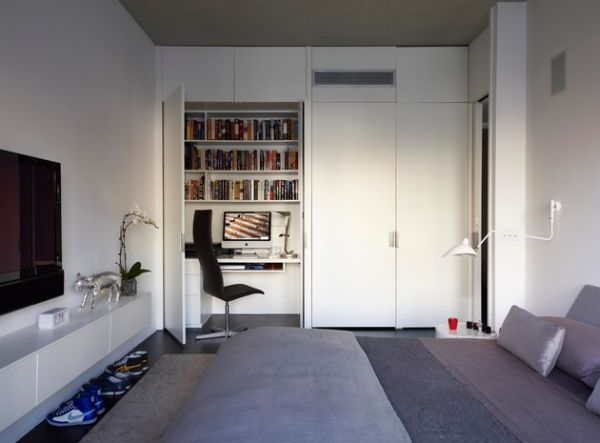 48 Minimalist Home Office Design Ideas For A Trendy Working Space Awesome Bedroom Home Office Minimalist Property