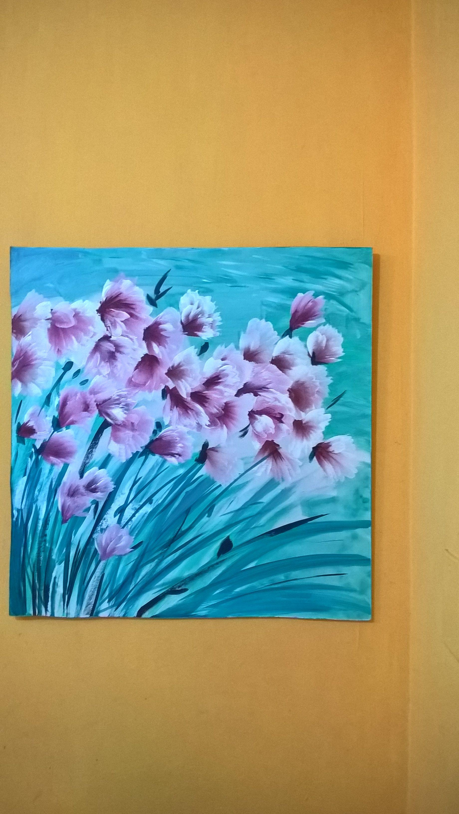 Acrilico sobre fibrofacil pintado por Silvia Anido ...
