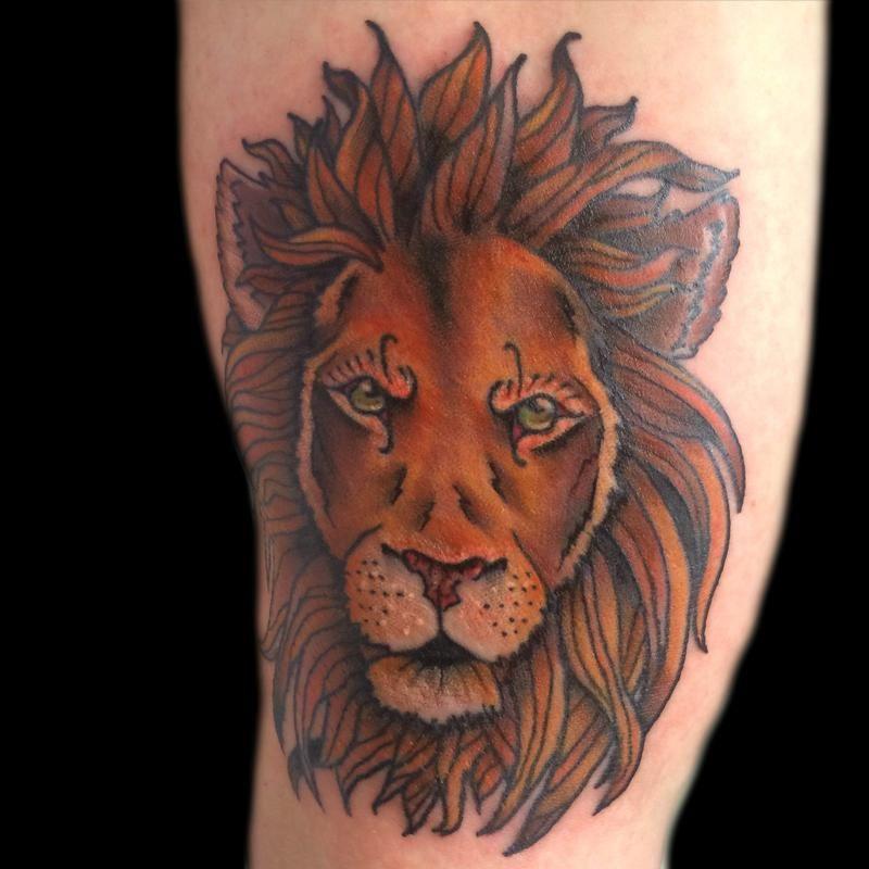 Tattoo Tattoos Traditional Old School Traditional Lion Head