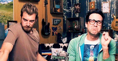 Painus... Not penis. // Rhett & Link