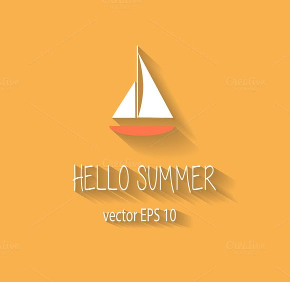 Logo summer yacht by ralelav on @creativework247