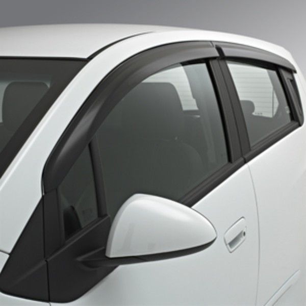 2015 Spark Side Window Weather Deflector Front Rear Sets Smoke