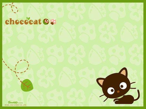 Chococat - sanrio Wallpaper