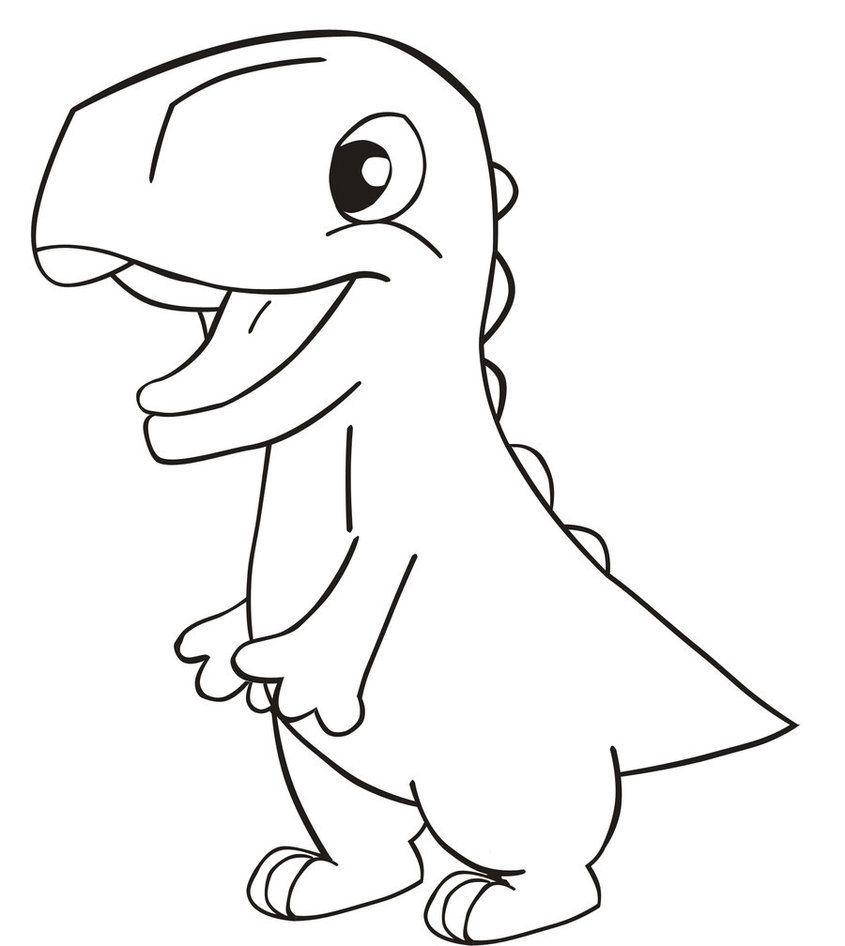 dinosaurier malvorlage einfach  tiffanylovesbooks