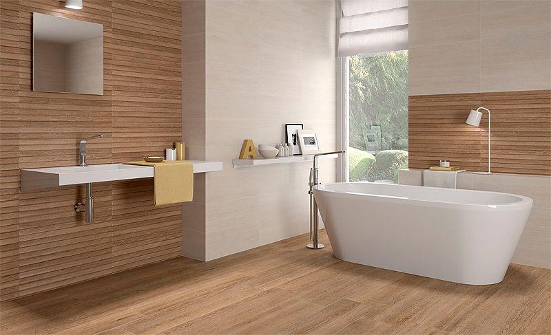 Pavimentos revestimientos casa infinita keraben 11 for Cuartos de bano imitacion madera