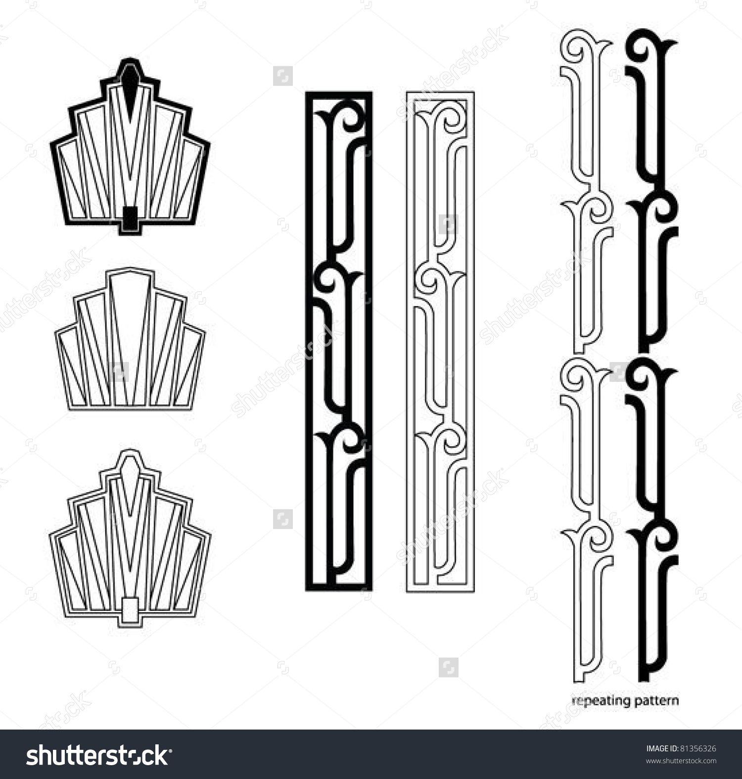 Art Deco Line Design : Art design elements the visual tools used to create both