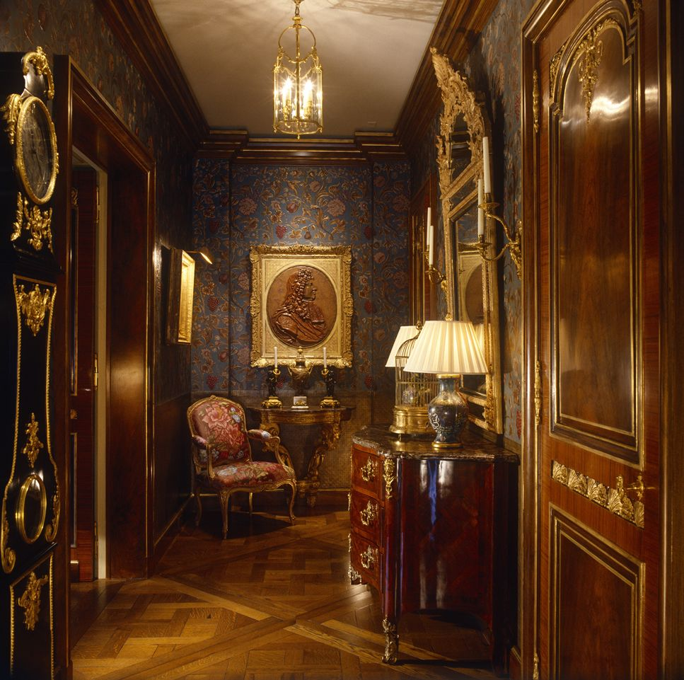 David Dangerous Entrance Hall Victorian House: Interior Design By Brian J.McCarthy Photography By Fritz