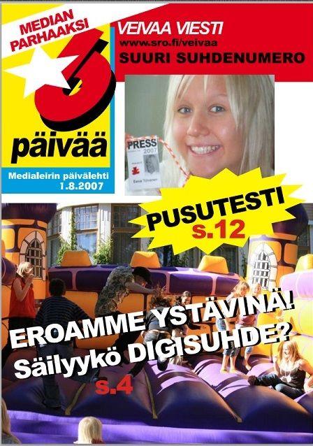Nuorten medialeireillä lehtikanavan ohjaajana 2005-2009