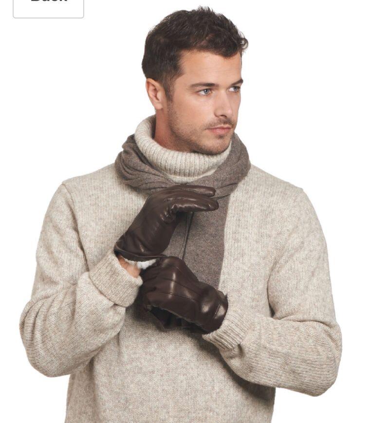 Super handsome sweater model.